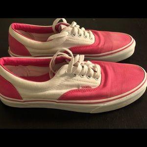 Vans Era Pink&White💕